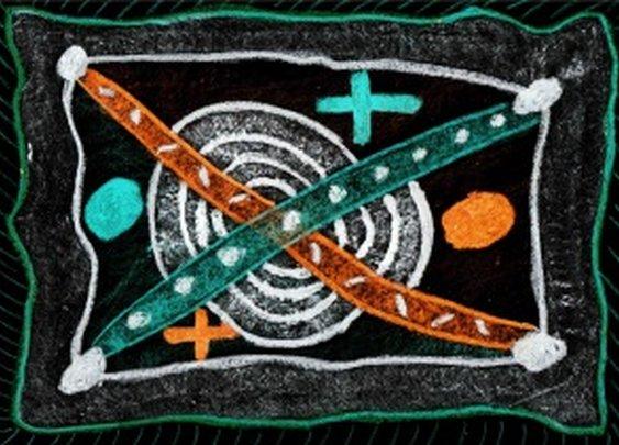 Flagge mit Zeichen | F blog B