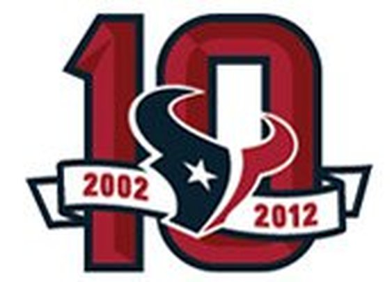 Texans to celebrate 10th anniversary throughout 2012