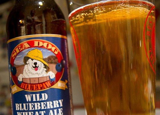 Sea Dog Blue Paw Wild Blueberry Wheat Ale