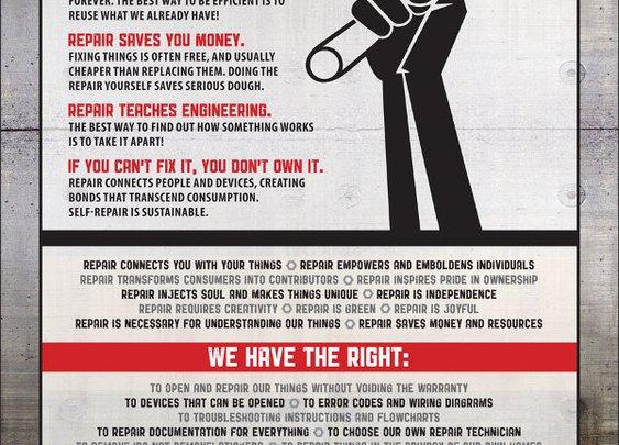Self-Repair Manifesto