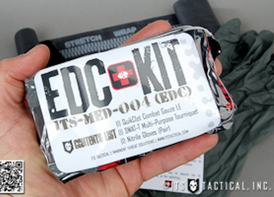 EDC Trauma Kit Now Available for your Back Pocket