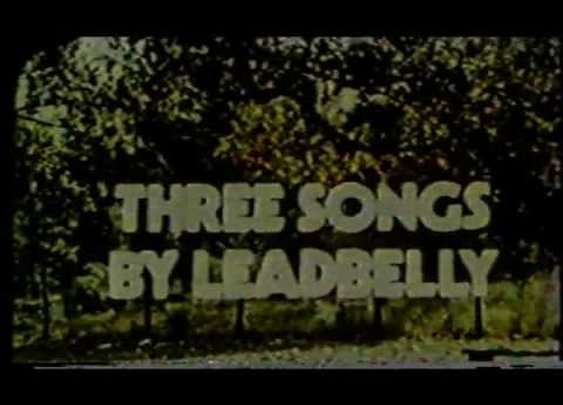 Leadbelly - Three Songs By Leadbelly - 1945 film clip