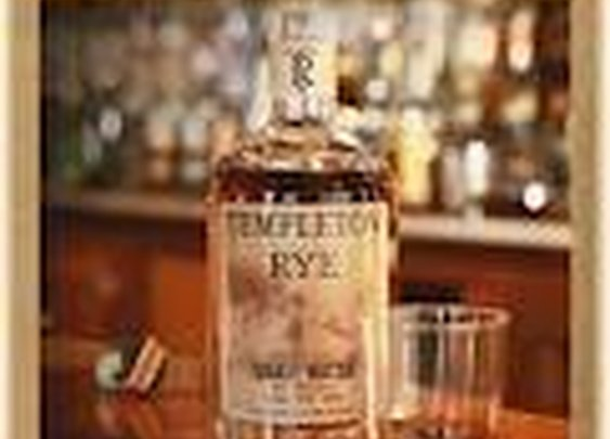 Templeton Rye-Prohibition era whiskey