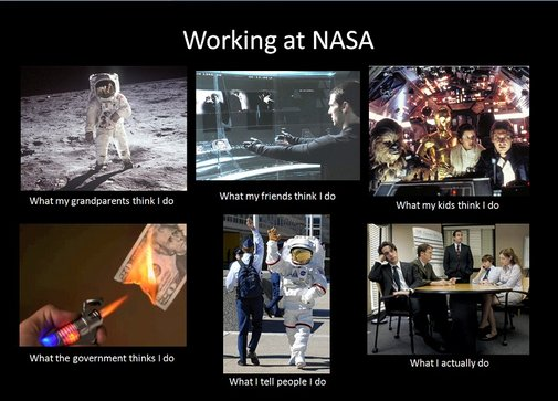 Working at NASA
