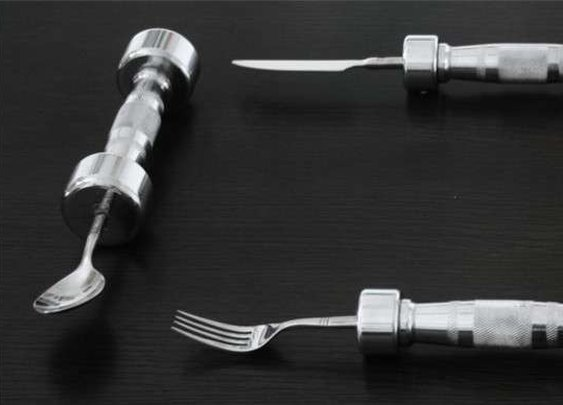 The Eat Fit Cutlery