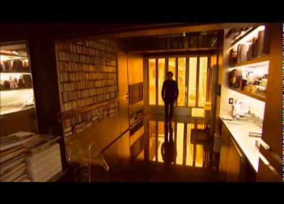 A Tiny Apartment Transforms into 24 Rooms      - YouTube