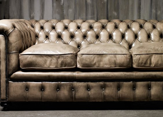 The Chesterfield is the king of all sofas.