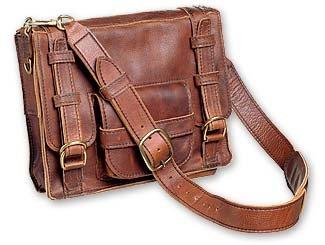 Renaissance Art Leather Adventure Bag