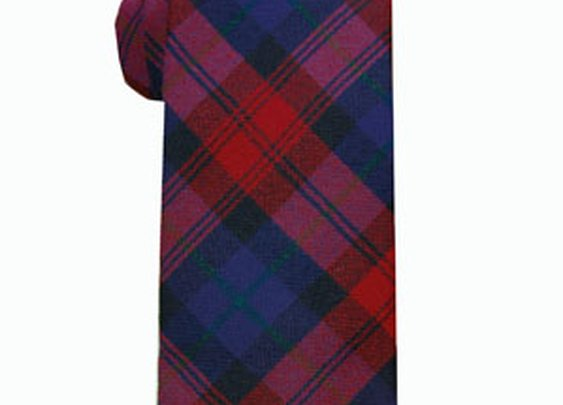 Leslie Green Wool Tartan Tie - Mountain & Sackett