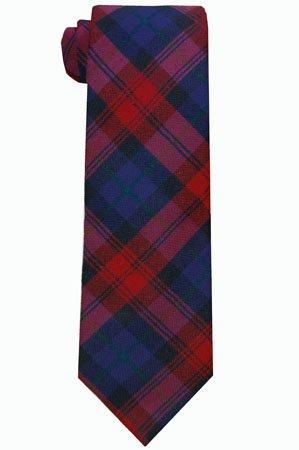 Leslie Green Wool Tartan Tie - Mountain & Sackett