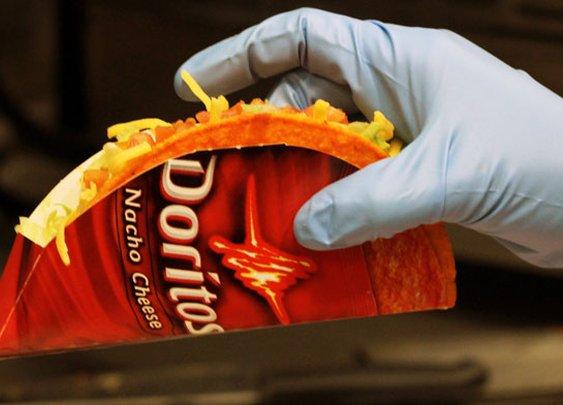 Taco Bell to Launch Nacho Cheese Doritos Taco Shells
