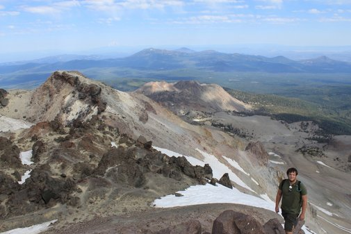 Hiking Lassen Volcanic National Park: Lassen Peak | OPAdventureTeam.com