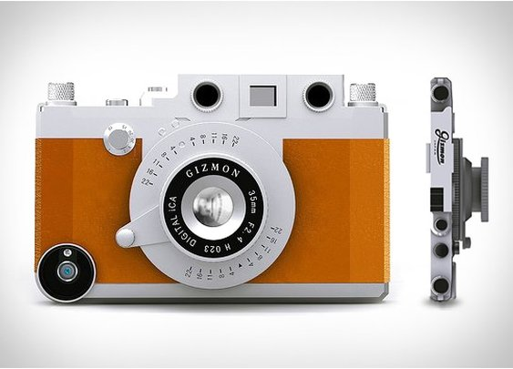 GIZMON | TURN YOUR IPHONE INTO A CLASSIC CAMERA