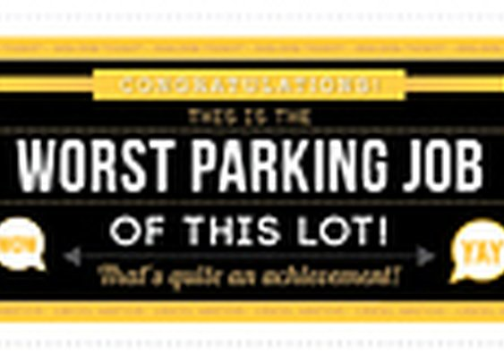 Wonka Golden Tickets For Crap Parking