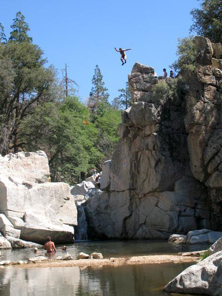 Top Five Spots For Cliff Jumping In Southern California