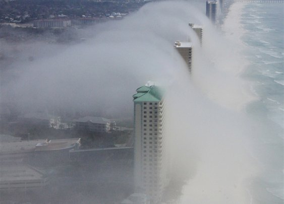 Cloud Tsunami!  Whoa!