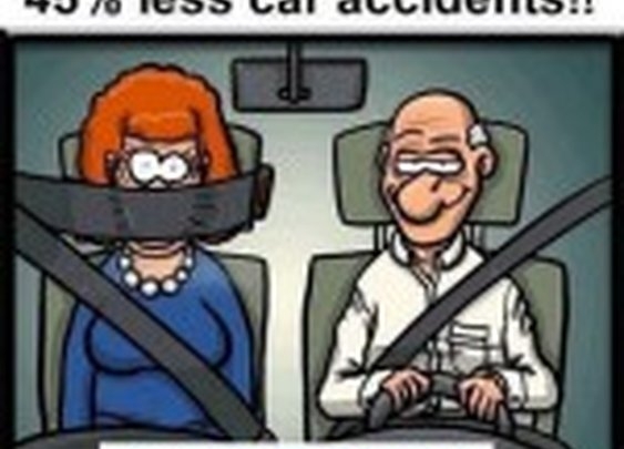 Less Car Accident Technology 2012