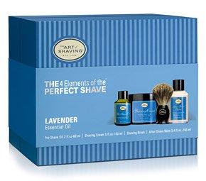 Lavender Shaving Cream Kit