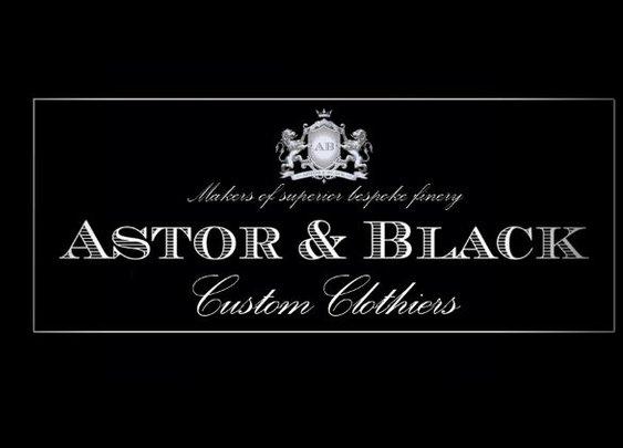 Custom suits. Sweet, sweet custom suits | Astor & Black
