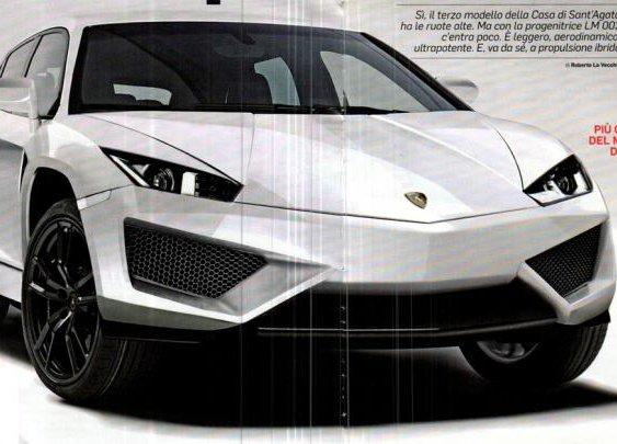 Friggin Laser » The Lamborghini SUV LB 736 is real !
