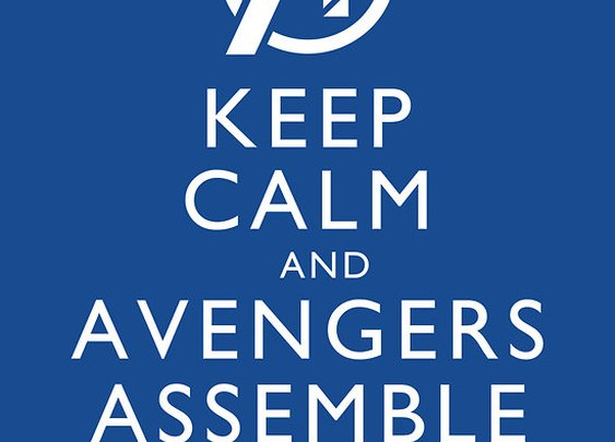 """""""Keep Calm and Avengers Assemble!"""" T-Shirts & Hoodies by trekvix 
