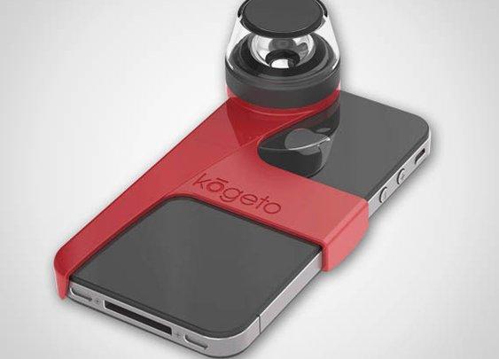 Panoramic iPhone 4 Camera Lens | Cool Material