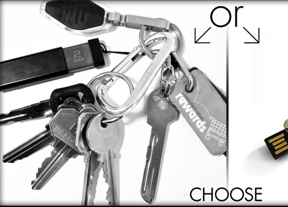 Replace your key chain with a Keyport