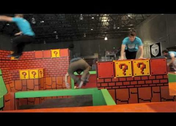 TEMPEST FREERUNNING ACADEMY - GYM VIDEO      - YouTube