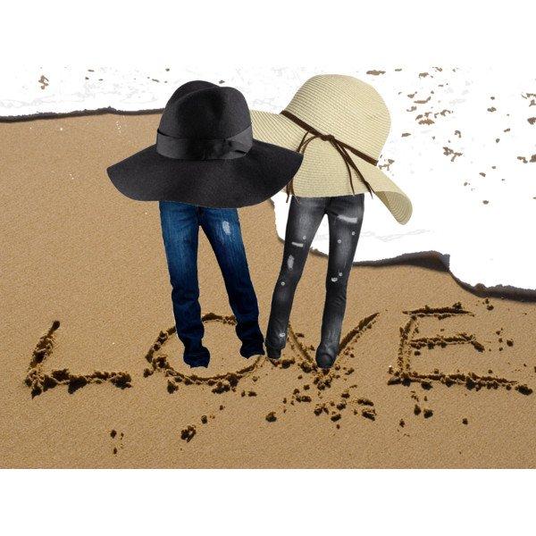 Love on a beach!