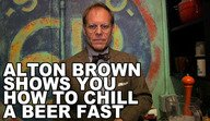 Late Night Eats: Speed-Chilling Beer with Alton Brown - Late Night Eats - Late Night with Jimmy Fallon
