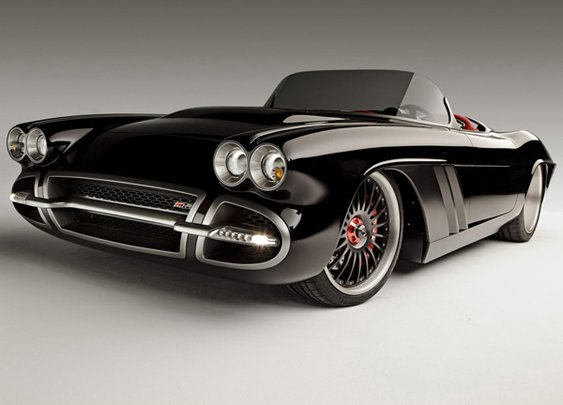 1962 Chevrolet Corvette C1-RS Concept Rebuild by Roadster Shop  | Lost In A Supermarket