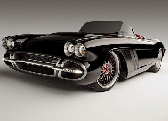 1962 Chevrolet Corvette C1-RS Concept Rebuild by Roadster Shop    Lost In A Supermarket