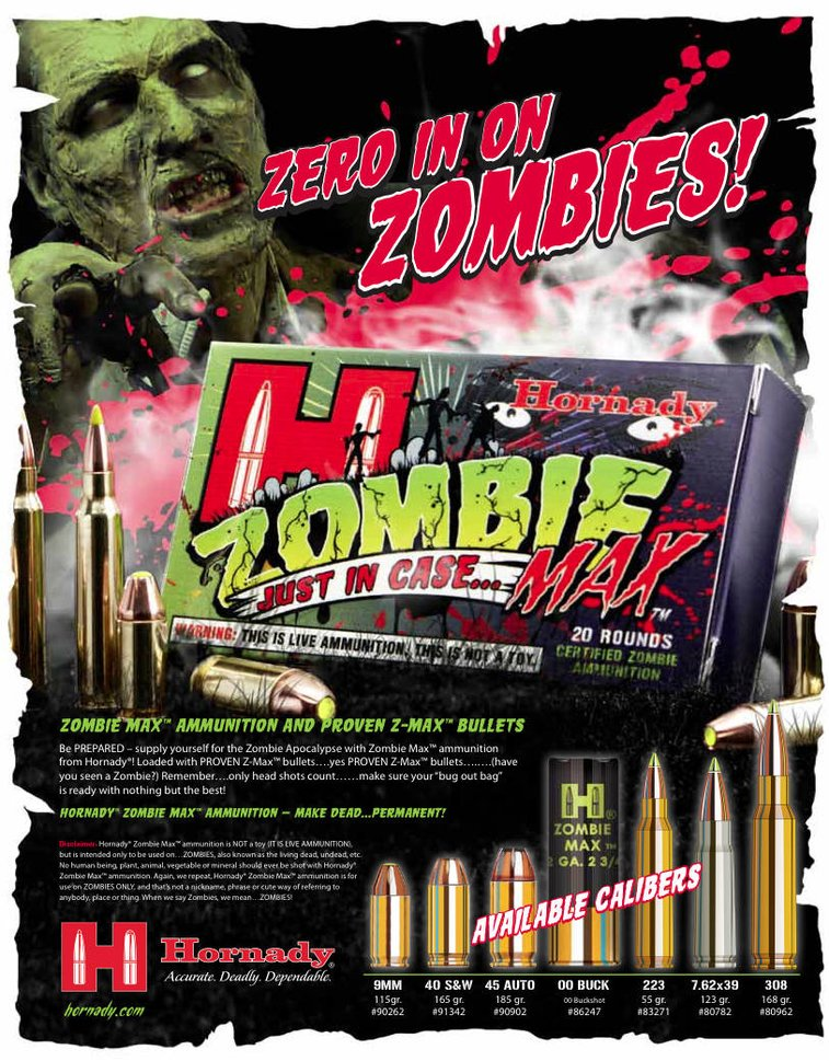 Hornady Zombie Max ammuntion