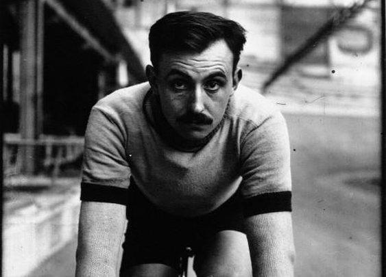Two time Tour de France winner Lucien Petit-Breton