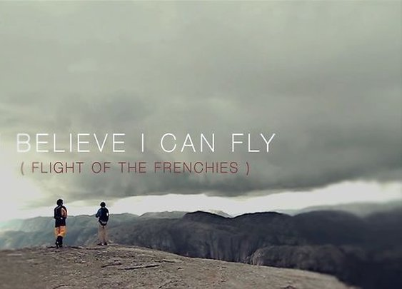 I Believe I can Fly ( flight of the frenchies). Trailer on Vimeo
