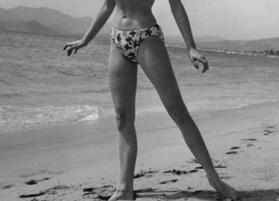 Brigitte Bardot at Cannes, 1953 | Retronaut