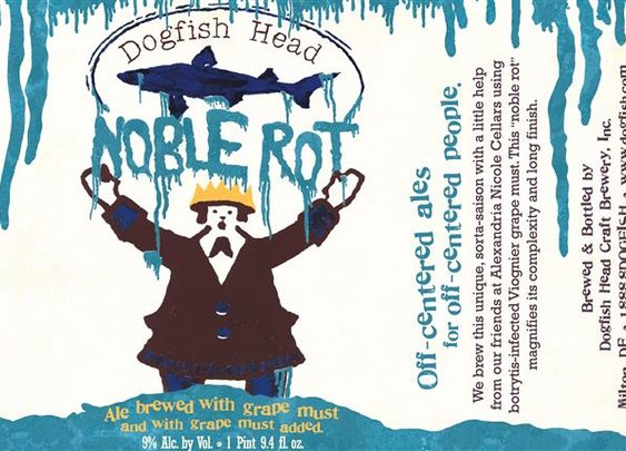 Dogfish Head Noble Rot: A Beer Even Robert Parker Might Like  | Drink With The Wench