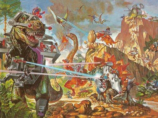 Laser Dinosaurs