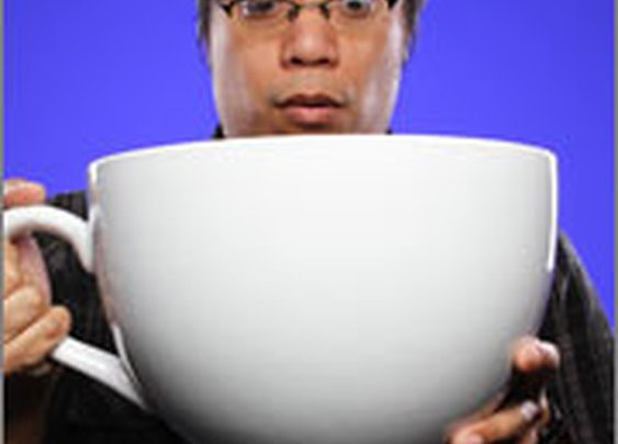 ThinkGeek :: World's Largest Coffee Cup