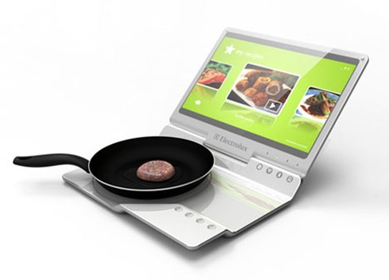 Laptop Kitchen: Portable Notebook Computer Cooks Food?! | Designs & Ideas on Dornob