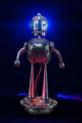 Assemblage Robot Night Light by Talbotics