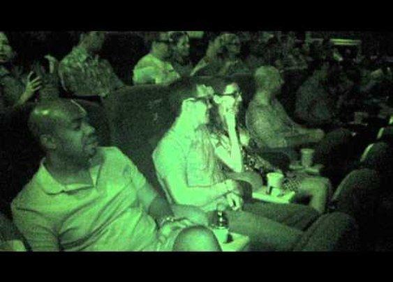 Zombie in a Theatre