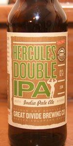 Hercules Double IPA - Great Divide Brewing Company - Denver, CO - BeerAdvocate