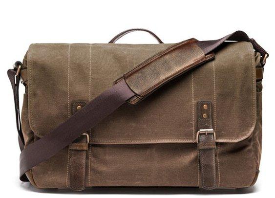 ONA |  DSLR Camera and Laptop Bag | Waxed Canvas Messenger Bag