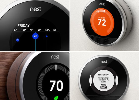 Apple design meets your thermostat