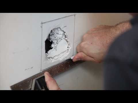 How To Repair Drywall - Large Hole - Build.com