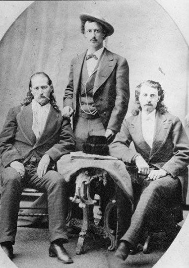 Wild Bill Hickok, Texas Jack Omohundro & Buffalo Bill Cody