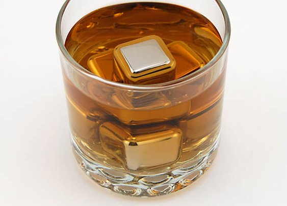 Stainless Steel Ice Cubes. Sweet!