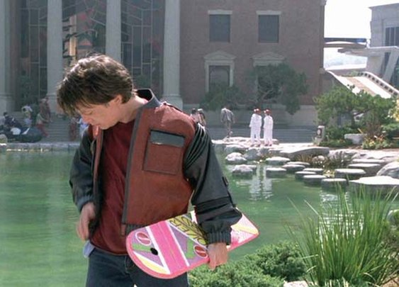 Back to the Future Hover Board from Mattel!