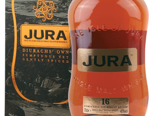 Jura 16 Year Old Single Malt Scotch